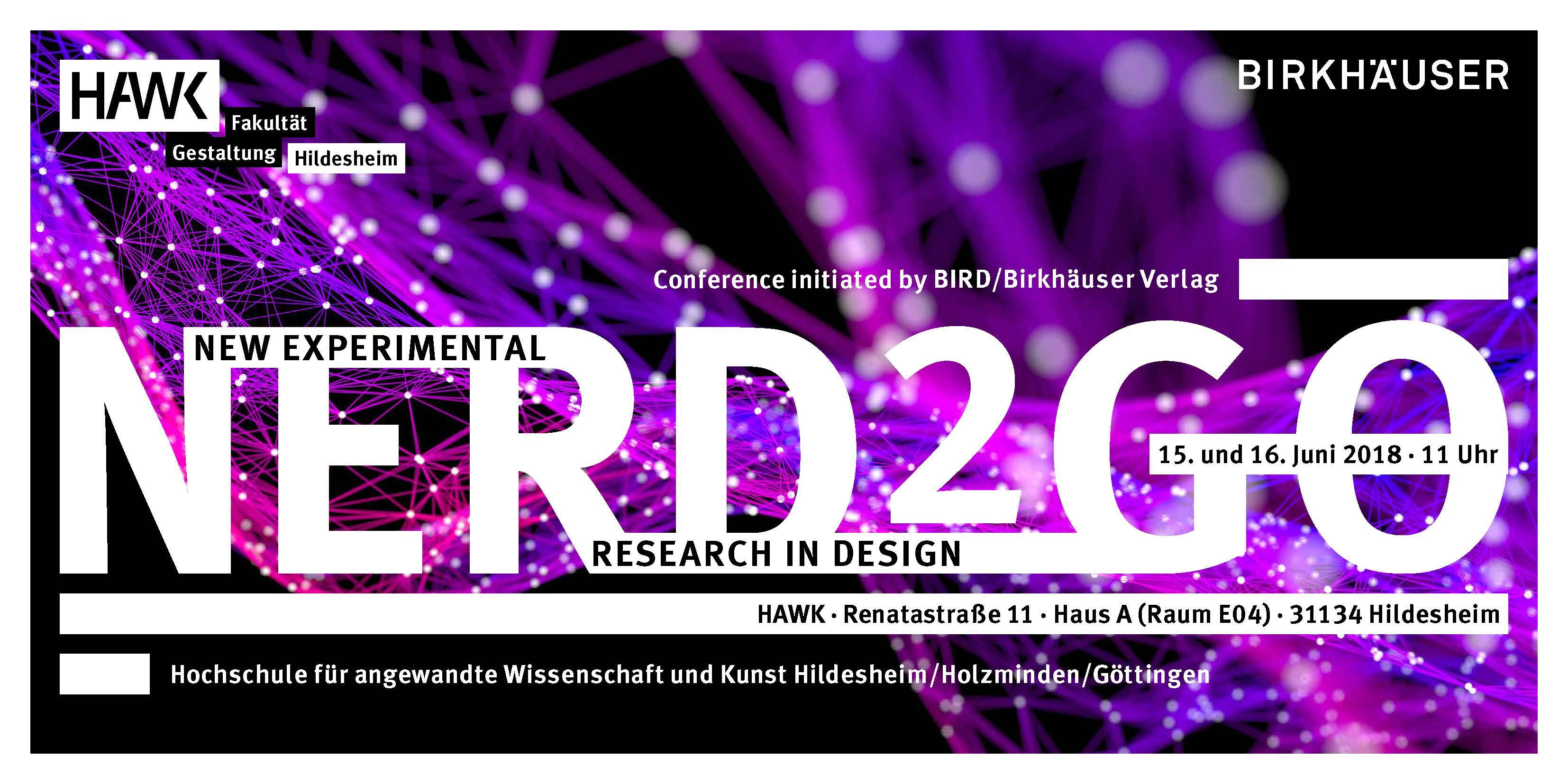 NERD2GO Conference, 15 & 16 June 2018, HAWK Hildesheim, Germany ...