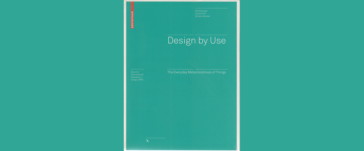 Buchtitel: Design by use