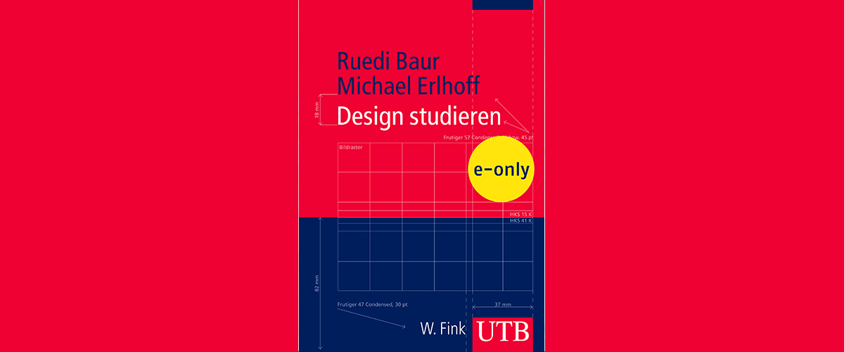 Buchtitel: Design studieren