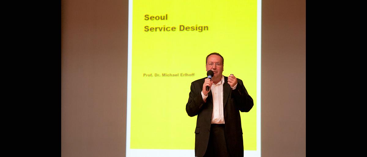 Michael Erlhoff, Seoul 2011