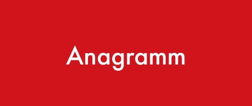 Anagramm