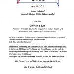 be//speak at riphahn - invitation Gerhart Baum