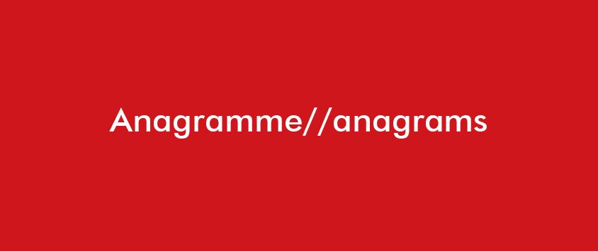 Beitragsbild Anagramme