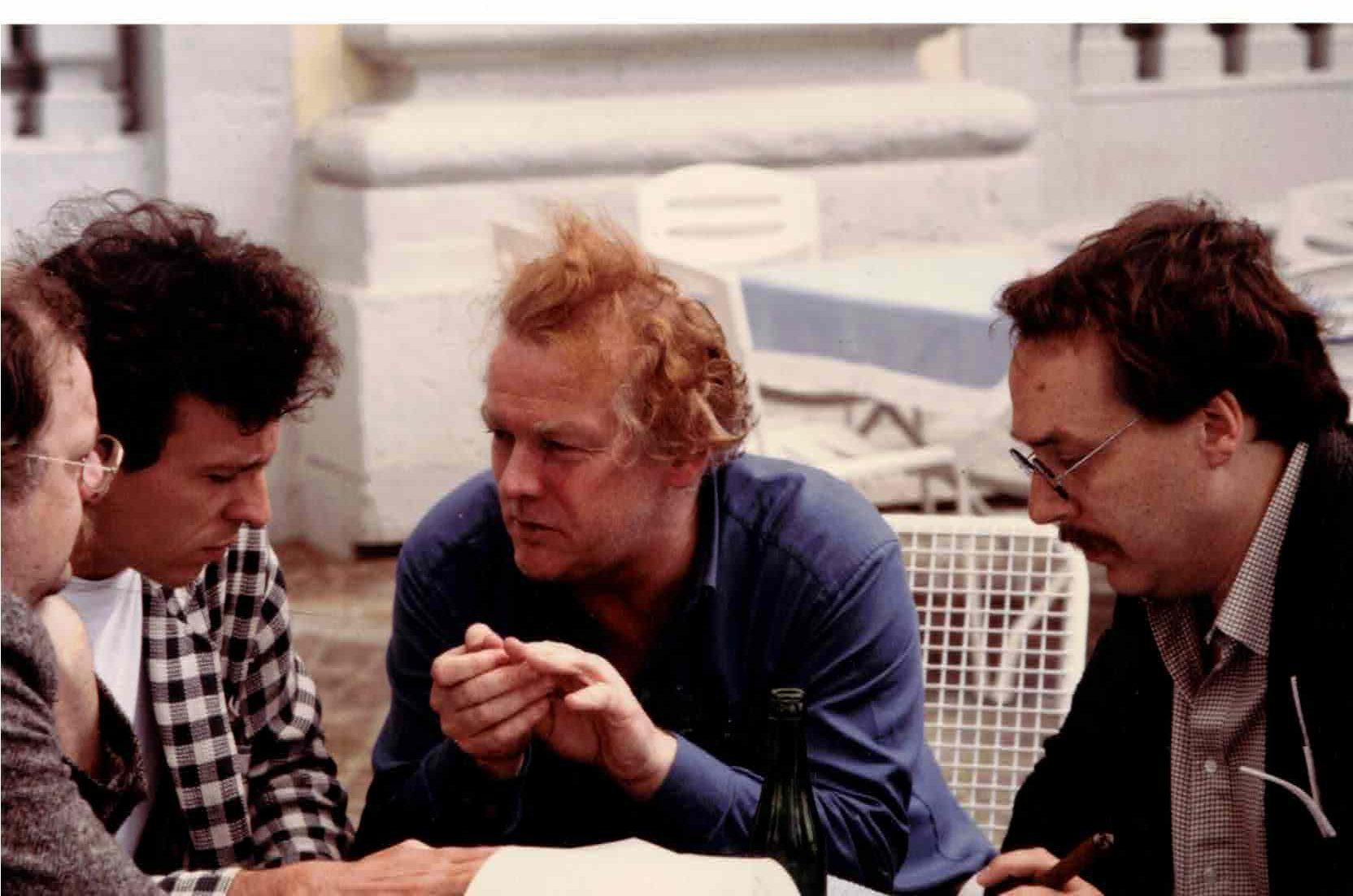 "documenta 8, Group ""Totem"" members, Manfred Schneckenburger, Michael Erlhoff"